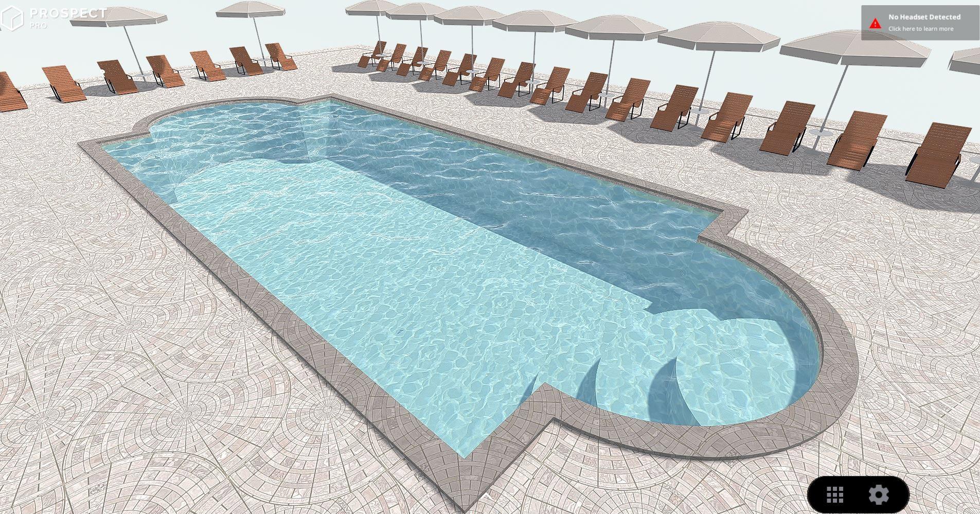 Pool in VR