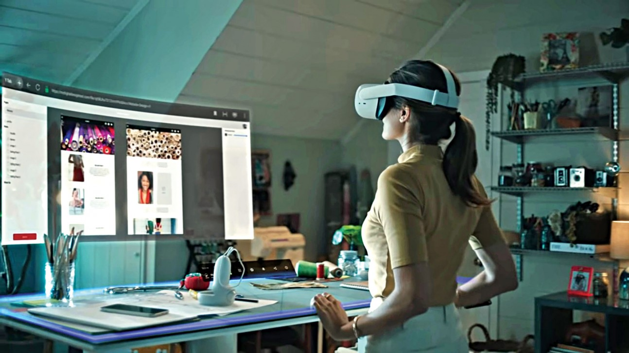 Facebook Reality Labs_Infinite Office_VR for business