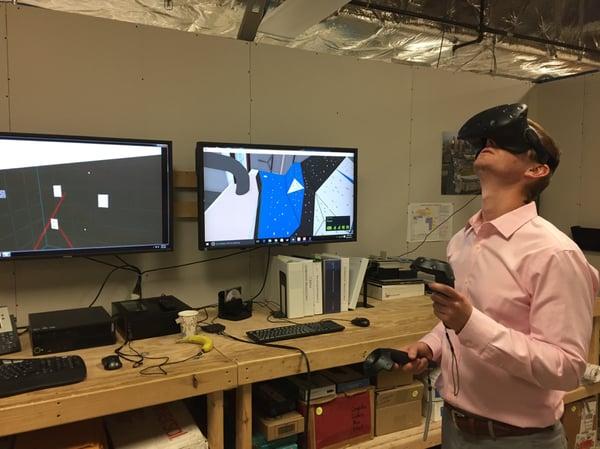 Viewing in VR Mortenson