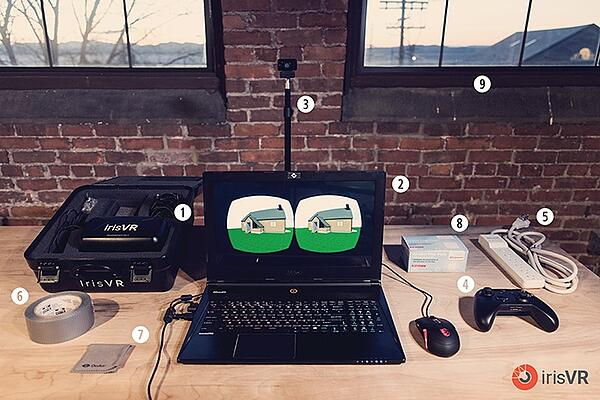 IrisVR VR Demo Set