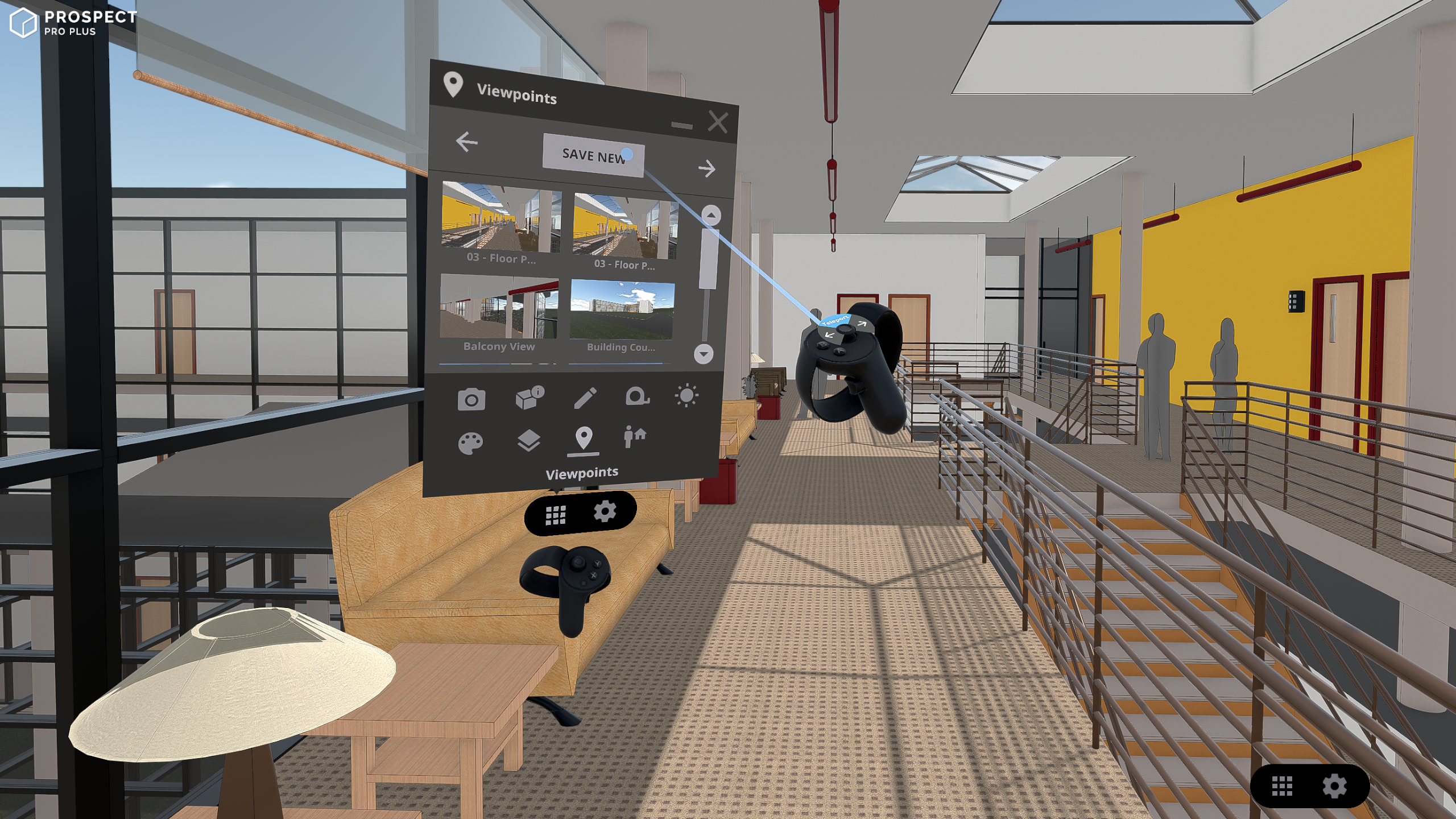 Viewpoint Creation for VR Walkthrough