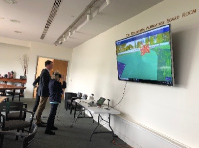 VR for Donor Meeting