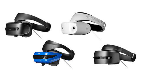 Windows MR Headsets Dell Acer