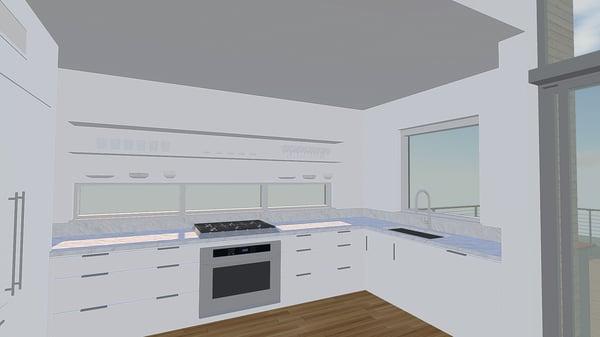 Kitchen in VR