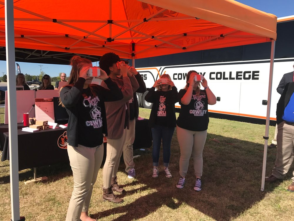 Cowley College Gear VR