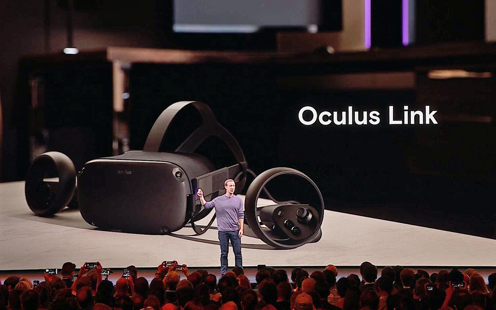Oculus Link announcement